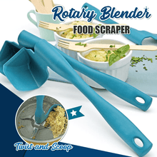 Load image into Gallery viewer, Rotary Blender Food Scraper