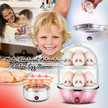 Load image into Gallery viewer, Multi-Functional Automatic Electric Egg Steamer