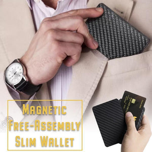 Magnetic Free-Assembly Slim Wallet