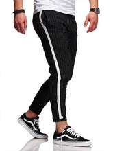 Load image into Gallery viewer, 3 Colors Side Stripes Paneled Men's Leisure Pants