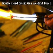 Load image into Gallery viewer, Double Head Liquid Gas Welding Torch