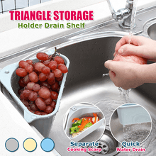 Load image into Gallery viewer, Triangle Storage Holder Drain Shelf
