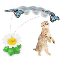 Load image into Gallery viewer, Electric Butterfly Cat Toy