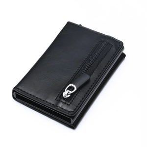 RFID Leather Coin Purse