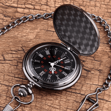 Load image into Gallery viewer, To My Son Quartz Pocket Chain Watch