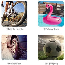 Load image into Gallery viewer, Mini Tire Inflatable Pump