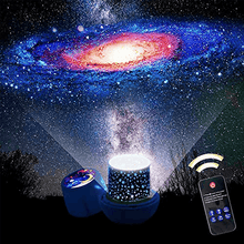 Load image into Gallery viewer, LED Galaxy Projecting Lamp