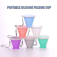 Load image into Gallery viewer, Portable Silicone Folding Cup