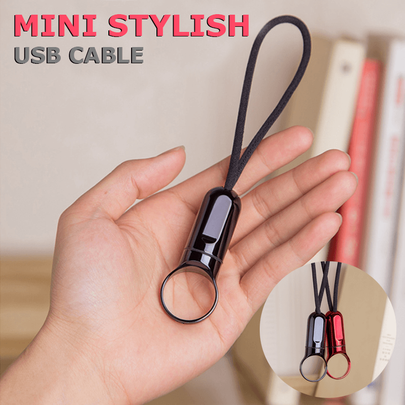 Charging Cable Keychain