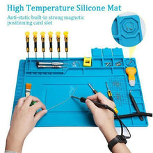 Load image into Gallery viewer, High Temperature Magnetic Silicone Mat
