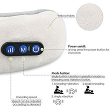 Load image into Gallery viewer, U-shaped Massage Pillow