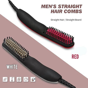 ¡¾Fast & Long Lasting¡¿Premium Hair And Beard Straightening Comb