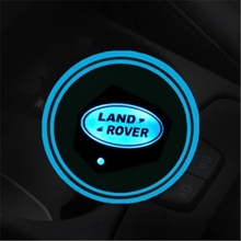 Load image into Gallery viewer, Led Changing  Car Logo Cup Lights up Holder