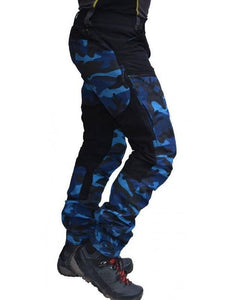 Camouflage Paneled Men's Leisure Pants