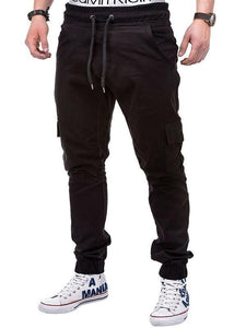 Ankle Length Leisure Solid Men's Pants