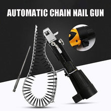 Load image into Gallery viewer, Automatic Chain Nail Gun