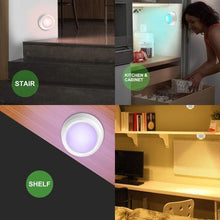 Load image into Gallery viewer, Colour-changing remote-controlled LED wireless