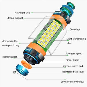 8-in-1 multi-function flashlight