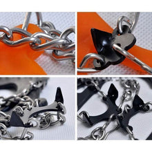 Load image into Gallery viewer, Portable Manganese Steel Crampons