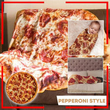 Load image into Gallery viewer, PizzaHolic Soft Flannel Blanket