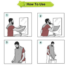 Load image into Gallery viewer, Beard Apron Shaving Hair Catcher