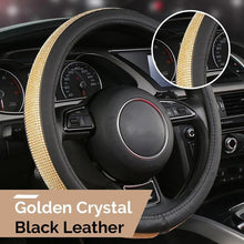Load image into Gallery viewer, Crystal Bling Steering Wheel Cover