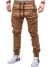 Load image into Gallery viewer, Ankle Length Leisure Solid Men's Pants