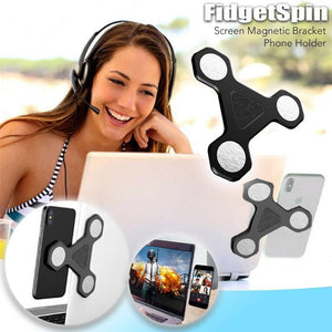 FidgetSpin Screen Magnetic Bracket Phone Holder