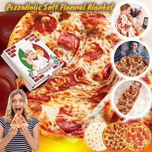 PizzaHolic Soft Flannel Blanket