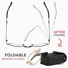 Load image into Gallery viewer, Progressive Bifocal Folding Reading Glasses
