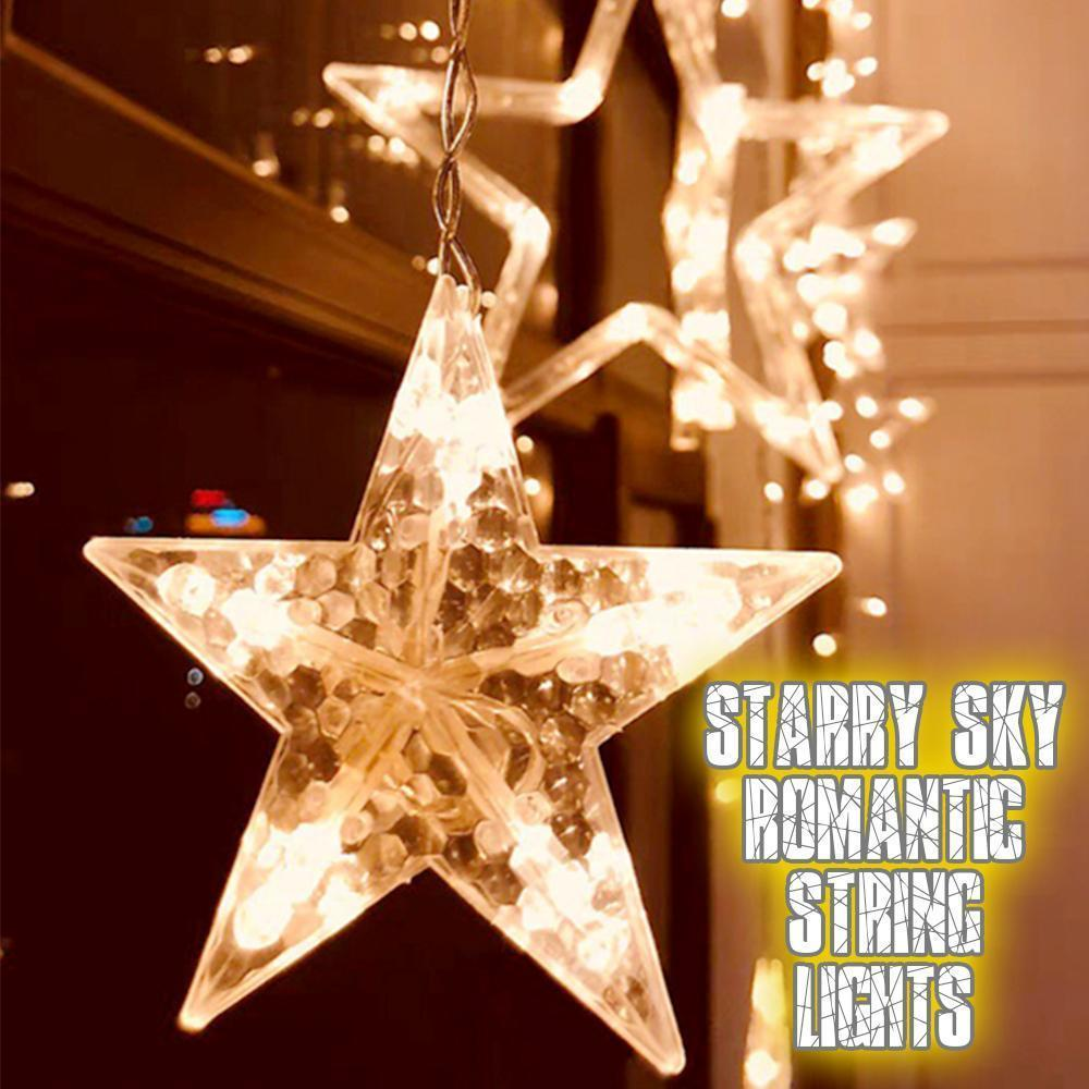 Starry Sky Romantic String Lights