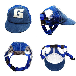 Dog Sun Hat Baseball Cap Fot Pets Outdoor