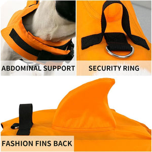 Dog Swimwear Pets Safety Swimming Suit