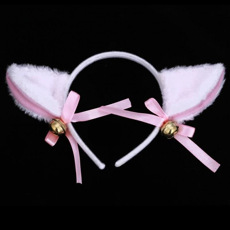 Party Club Bar Cat Fox Fur Ear Hair Clip