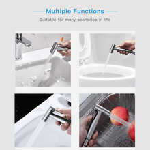Load image into Gallery viewer, Premium Stainless Steel Hand Held toilet flusher