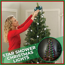 Load image into Gallery viewer, Star Shower Christmas Tree Lights