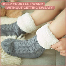 Load image into Gallery viewer, Soft Cozy Slipper Socks