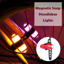 Load image into Gallery viewer, Magnetic Snap Handlebar Lights