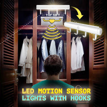 Load image into Gallery viewer, LED Motion Sensor Lights With Hooks