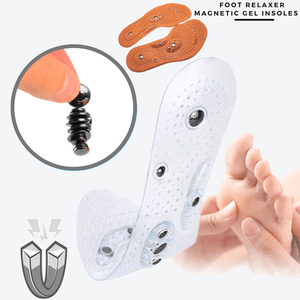 Foot Relaxer - Magnetic Gel Insoles (2 pcs set)