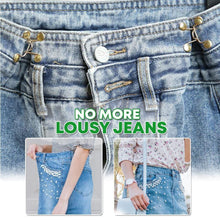 Load image into Gallery viewer, Retractable Jeans Adjustment Clasps Set