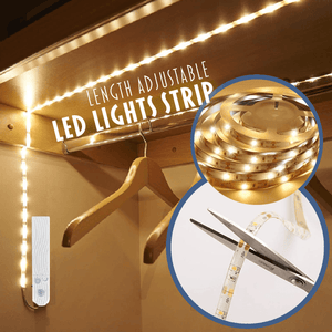 LED Motion Activated Waterproof Lights Strip