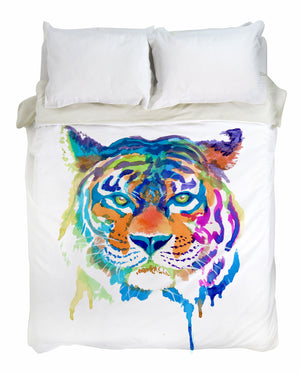 Tiger Enchantment Duvet Cover