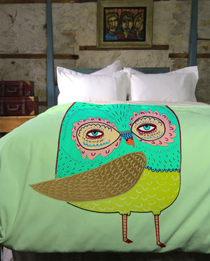 Little Owl Duvet Cover Cover