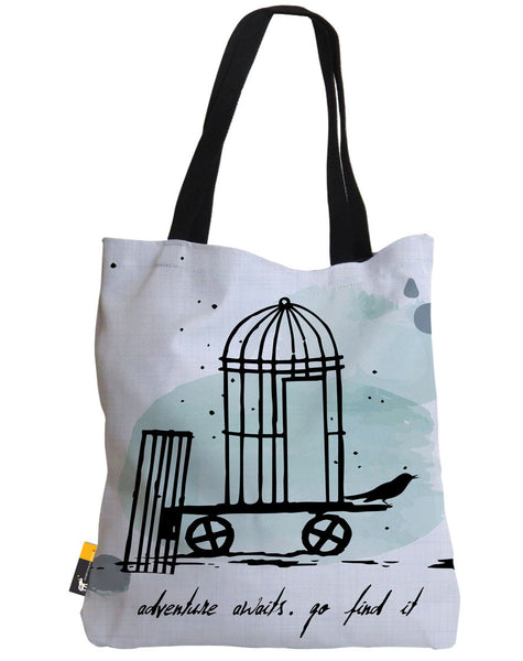 Adventure Awaits Tote