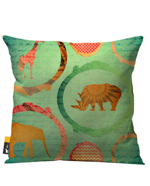 Africa Outdoor Throw Pillow