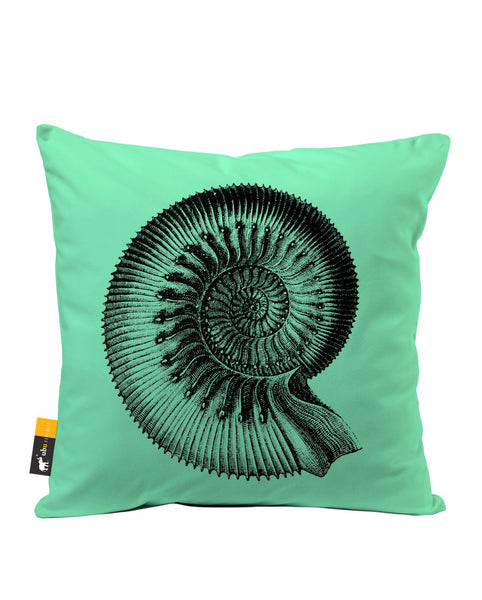 Ammonite Luxe Suede Throw Pillow