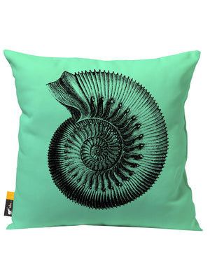 Ammonite Outdoor Throw Pillow
