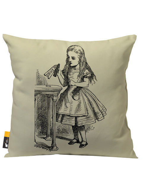 Ask Alice Outdoor Throw Pillow