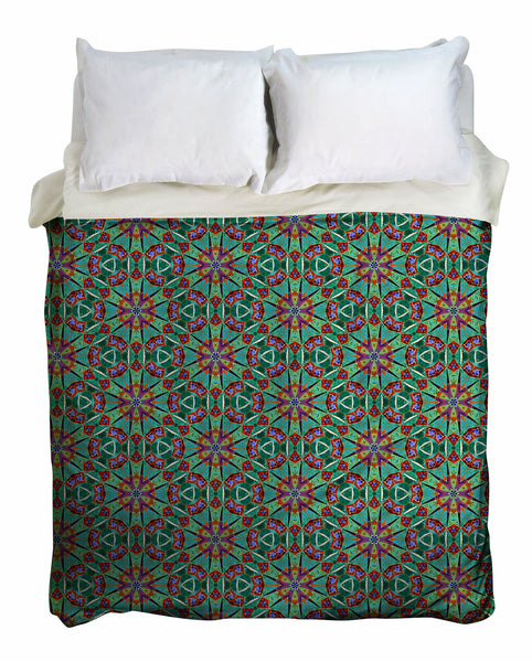 Boho Cypress Duvet Cover